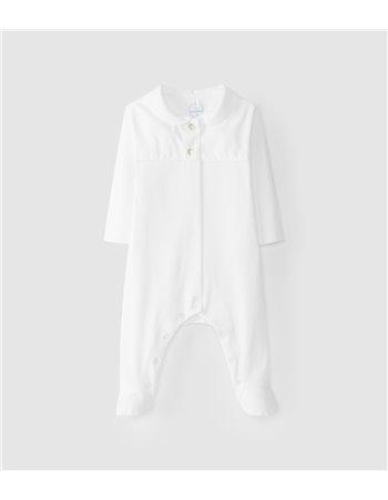 Babygrow maille coton col bébé