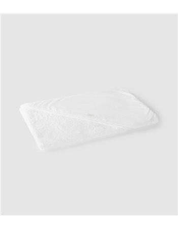 Cape de bain à capuche en tissu
