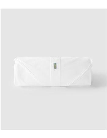 Maxi-lange en maille avec ruban de rangement