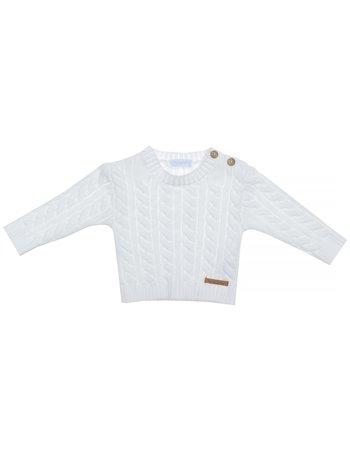 Pull en maille tricotée