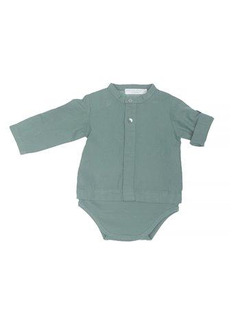 Body-chemise en lin