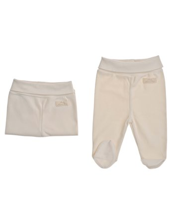 9100 Sininho Set 2 calças cintura subida interlock