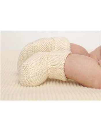 9238- Carapins em tricot ponto mousse
