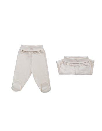 9626- Set 2 calças cintura subida