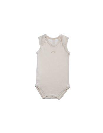Body básico sem manga c/estampado Baby Naturapura