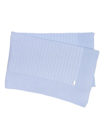 Couverture tricotée en coton