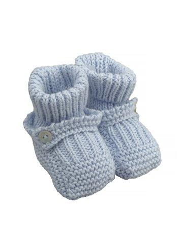 Petites bottes tricotées