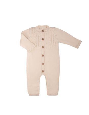 Babygrow en tricot avec doublure
