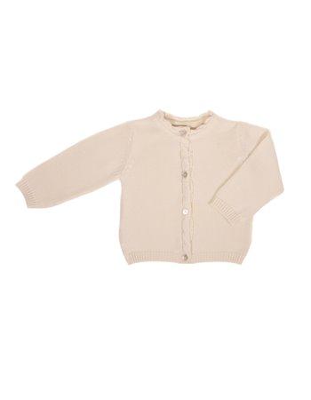 Gilet en tricot avec détail de tresses
