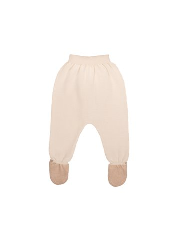 Pantalon pieds en tricot