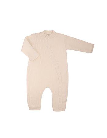 Babygrow en tricot ouverture devant
